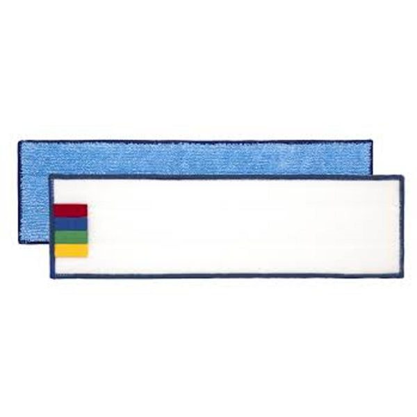 Frange Microfibre Velcro Bleu 40 CM